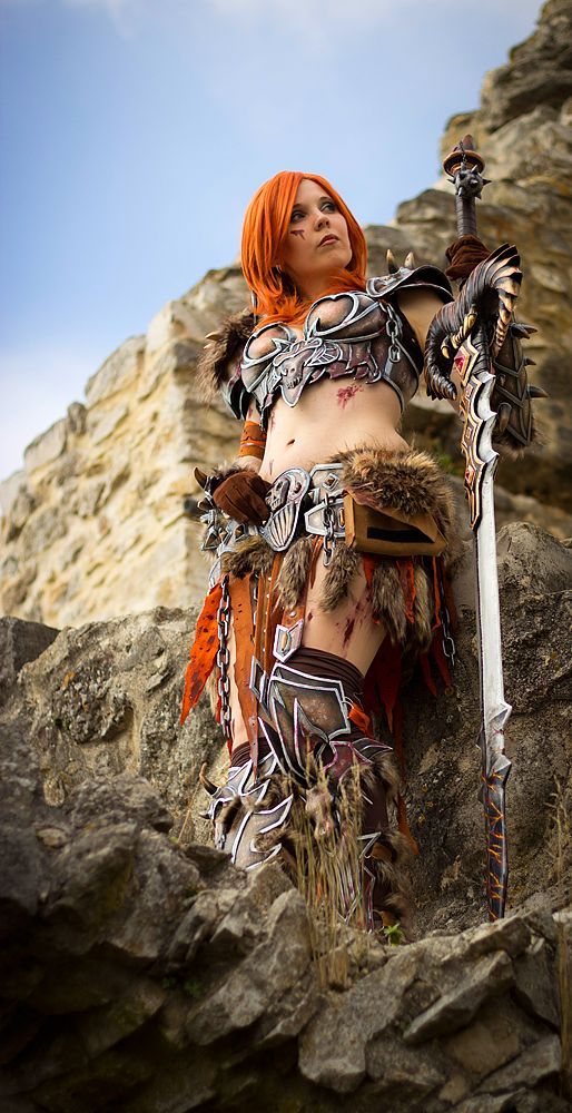 63 best images about barbarian women on Pinterest | Armors ...