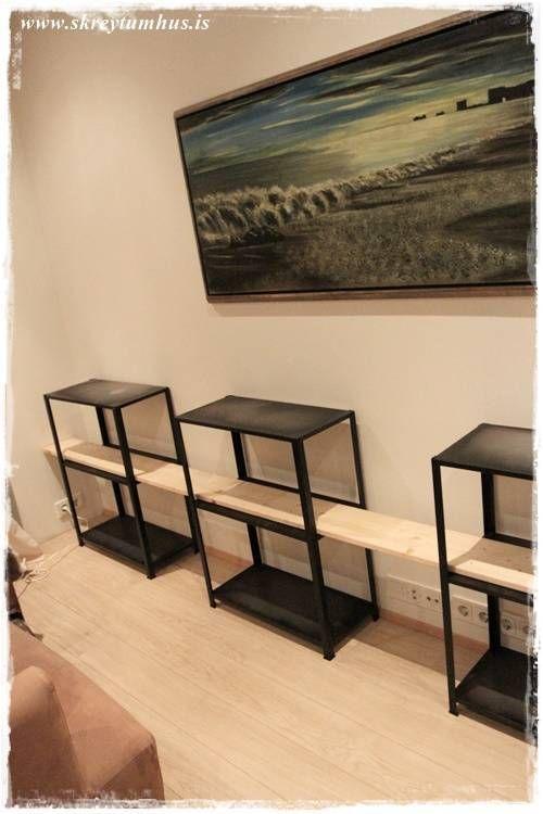 Hyllis Ikea Hack – DIY…   Skreytumhús.is