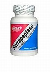 Smart Nutrition Serrapeptase - 120 caps can be used effectively for inflammation in all forms. The uses are wide ranging and cover just about every condition that is affected by inflammation