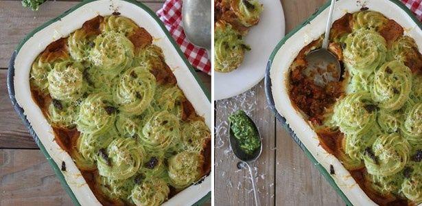 Italian-style shepherd's pie