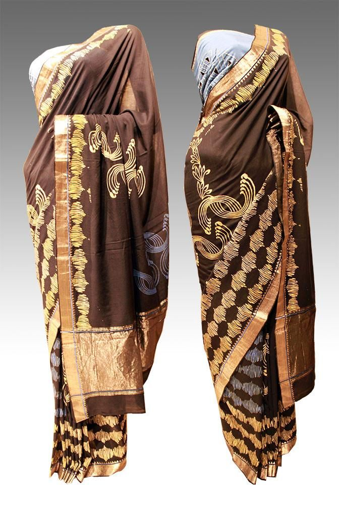 Mangalgiri cotton printed Saree (VKSR505) priyankaSee our latest product upoloaded on our website...