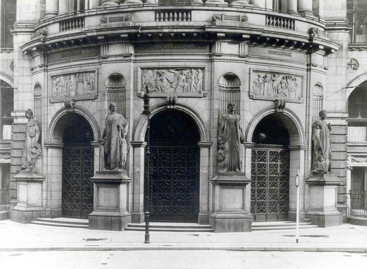 Berlin, Mauerstraße, Main Entrance / Haupteingang 1930
