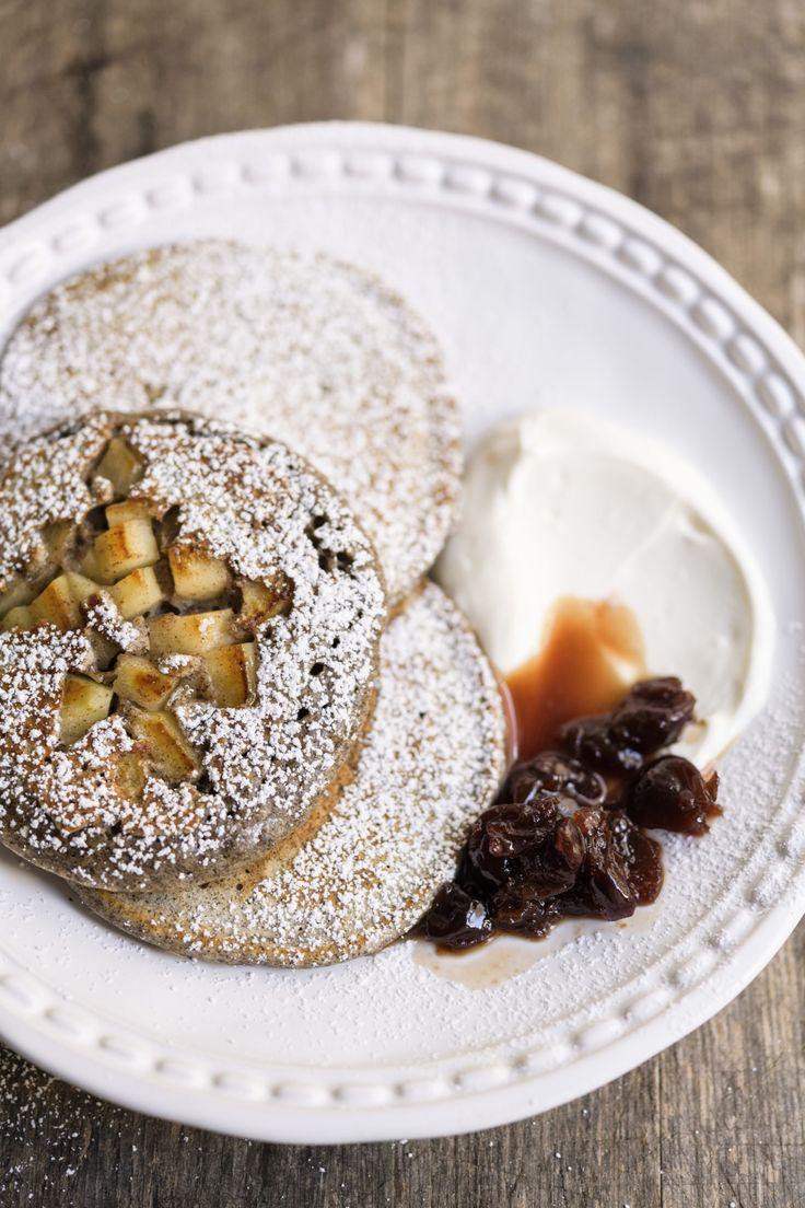 Buckwheat Apple Pancakes from Christopher Kimball's Milk Street