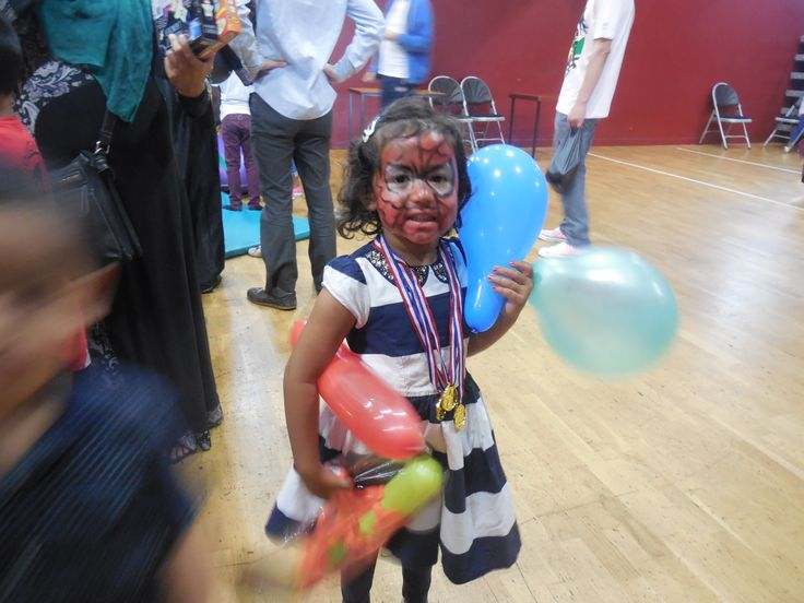 Children from local community attending one of the events!