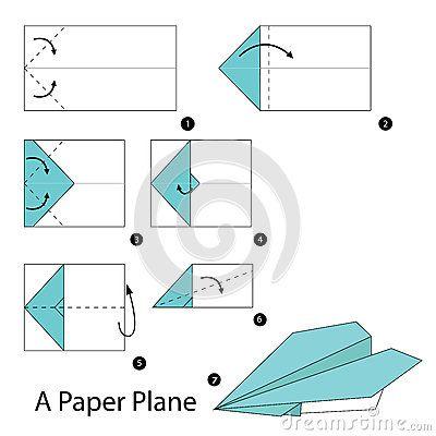 Instrucciones paso a paso c mo hacer papiroflexia un avi n - Papiroflexia paso a paso ...