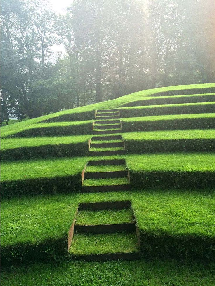 Sod stairs