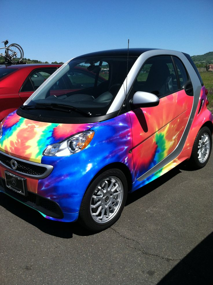 The dealers Smart Car.