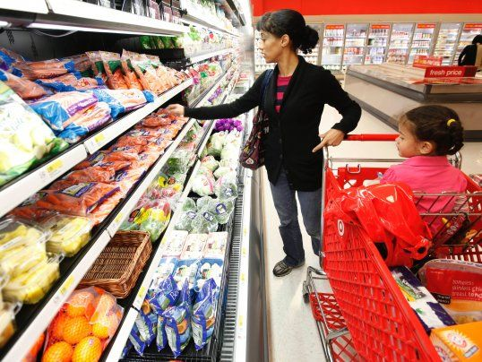 Grocery stores are using spy technology to get you to spend more money  -- Target groceries grocery store / Dec 4 '15