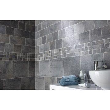 Les 194 meilleures images propos de salle de bain for Carrelage vestige leroy merlin