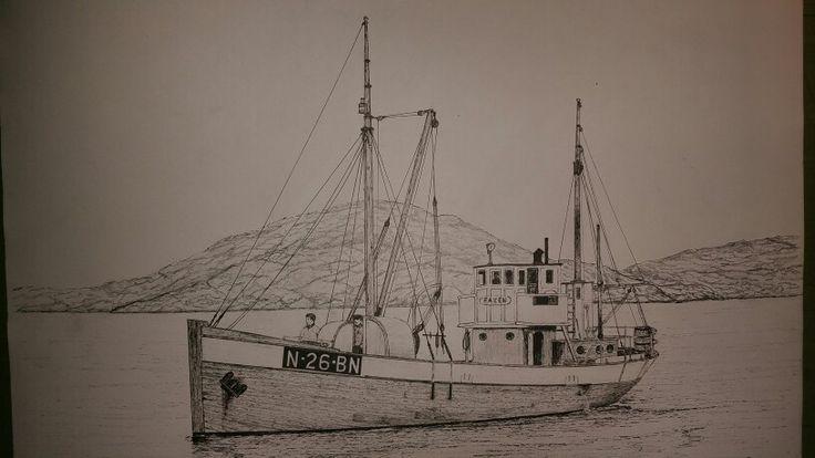 """The old 1916 built """"Faxen"""" still intact"""