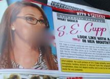 Conservative Woman S.E. Cupp Virtually Raped by Hustler Magazine