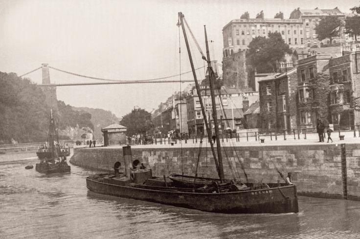 Hotwells & Clifton Bristol 1900s.