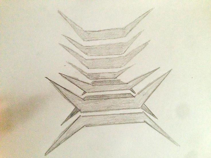 en tercer lugar dibujé el diseño de mi butaca según quería hacerla y situando los módulos de tal manera que encajaran.
