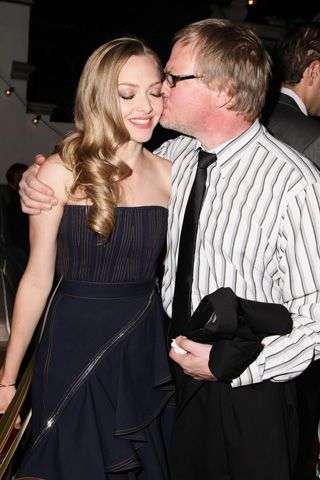 Photo of Amanda Seyfried & her Father  Jack Seyfried