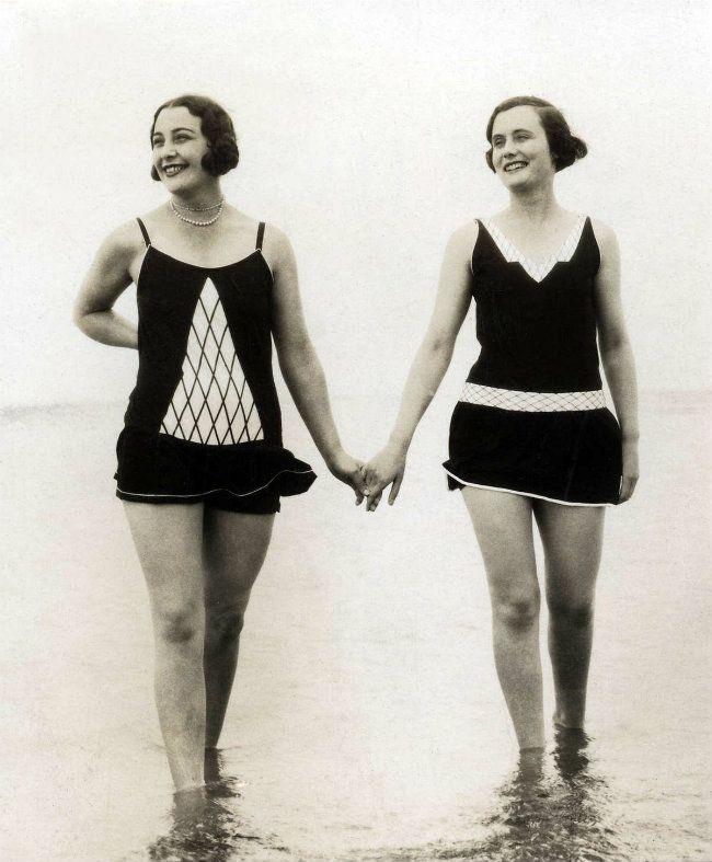 1928 swim suits