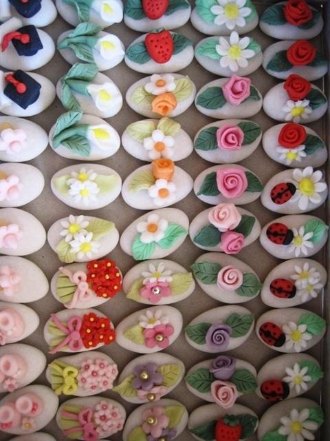 Confetti decorati #matrimonio