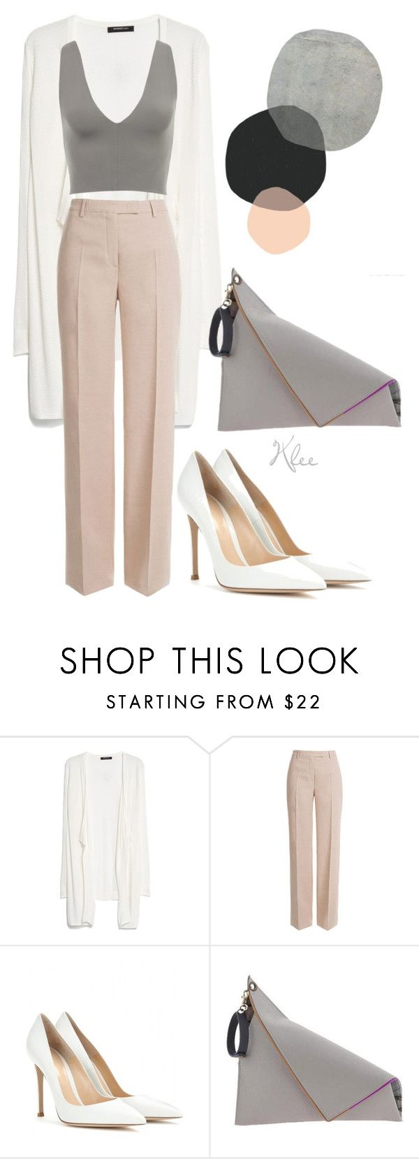 """It's just different"" by katherineklee ❤ liked on Polyvore featuring MANGO, Emilio Pucci, Gianvito Rossi and Georgina Skalidi"