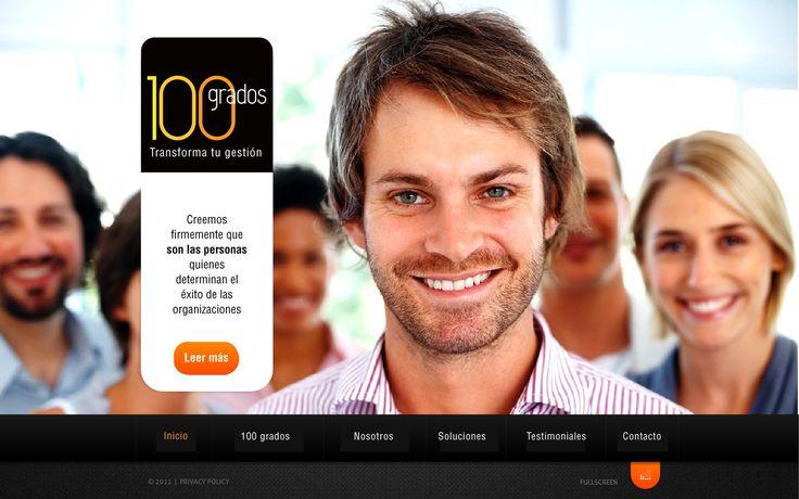 Sitio web para 100 GRADOS - Año ©2012