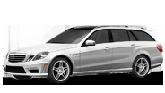 Mercedes-Benz E63 AMG Wagon    Starting at MSRP $92,400*