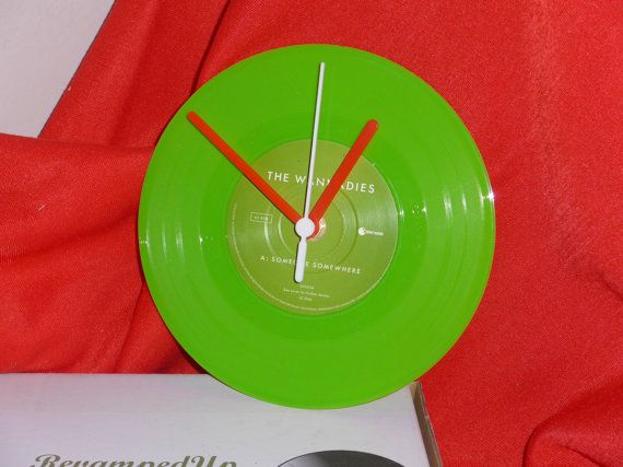 Wannadies  Someone Somewhere 7 Green Vinyl Record by RevampedUp
