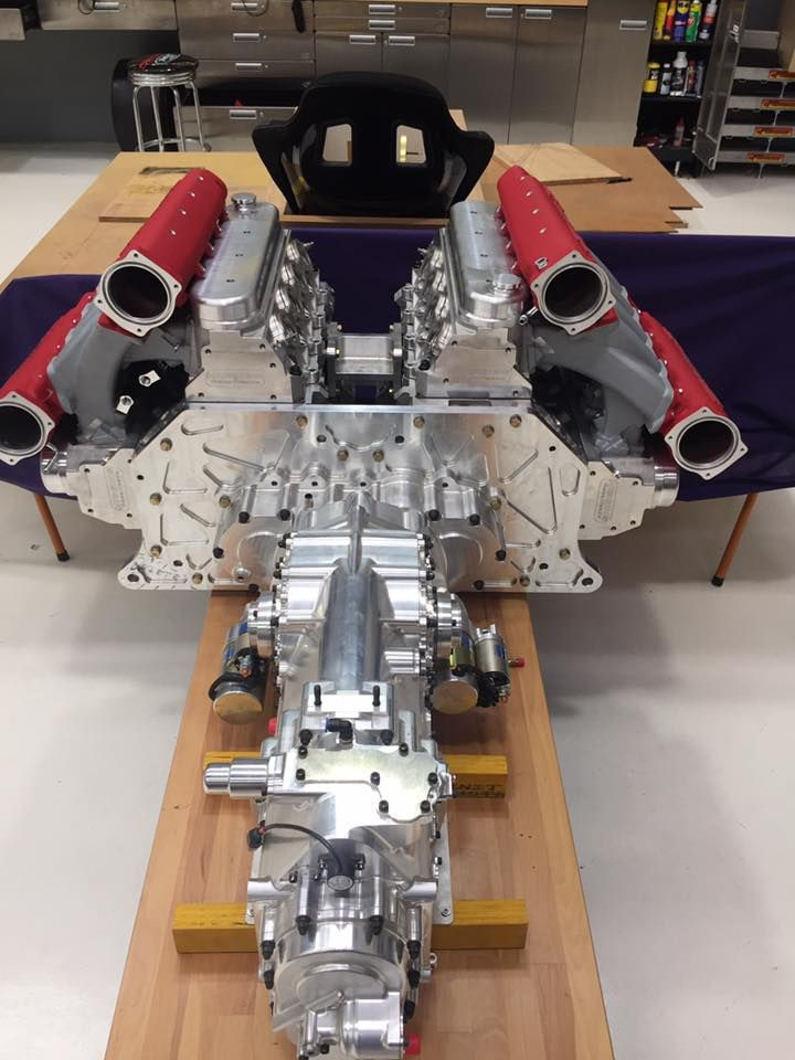 We've seen supercars that use LS motivation before, but we've never seen anything like this. The Giocattolo Seconda Iterazione is set to use two LS engines