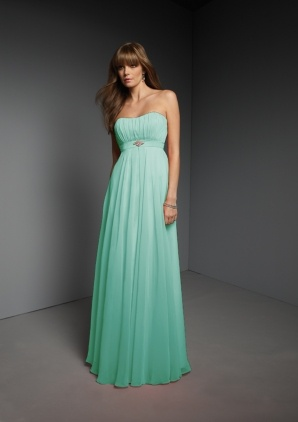 tiffany teal dress