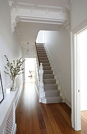 All white banister option