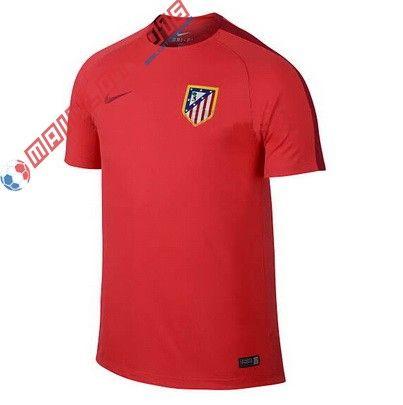 Nouveau maillot de foot Training Atletico Madrid 2016 Rouge 22,99€