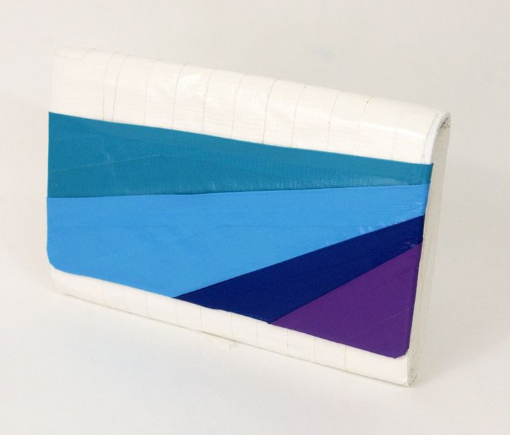 Duct Tape Clutch Striped by ~DuckTapeBandit on deviantART