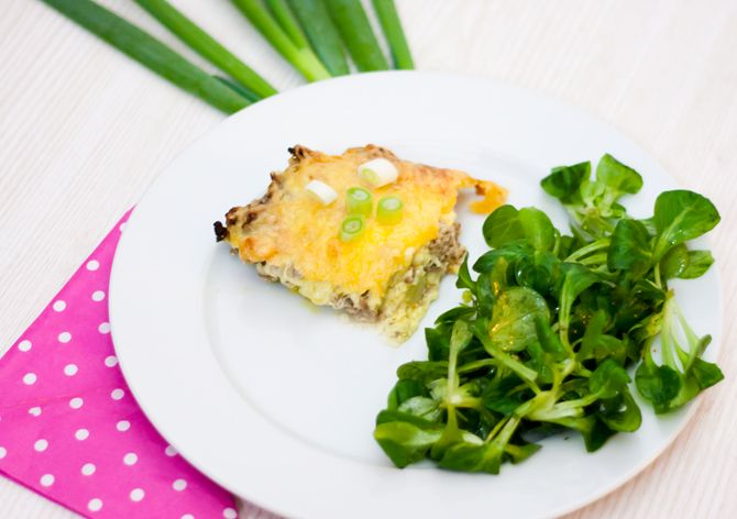 Low Carb Cheeseburger Pie – Low Carb Köstlichkeiten