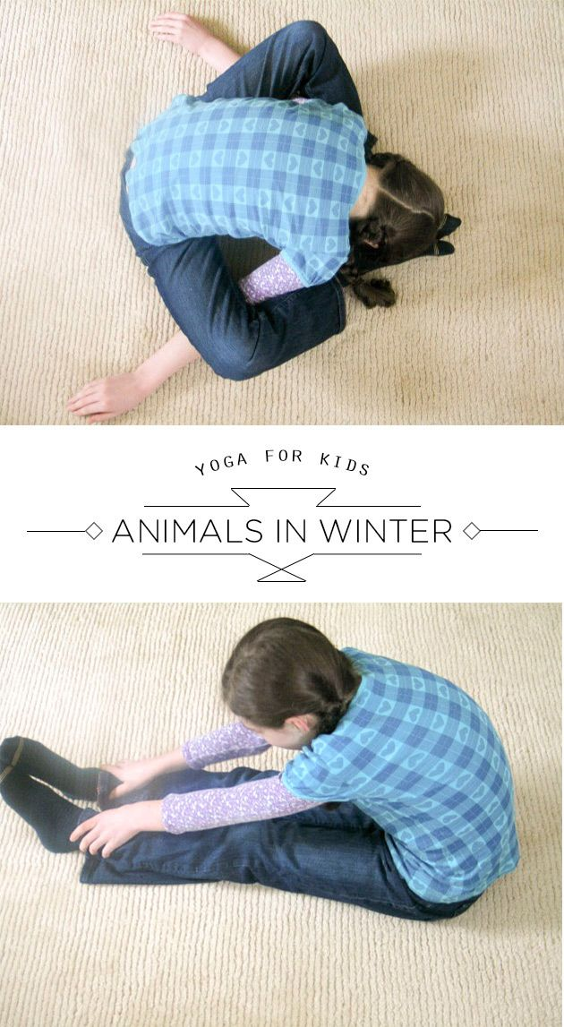 A wonderful winter yoga sequence to share with the little yogis in our lives...