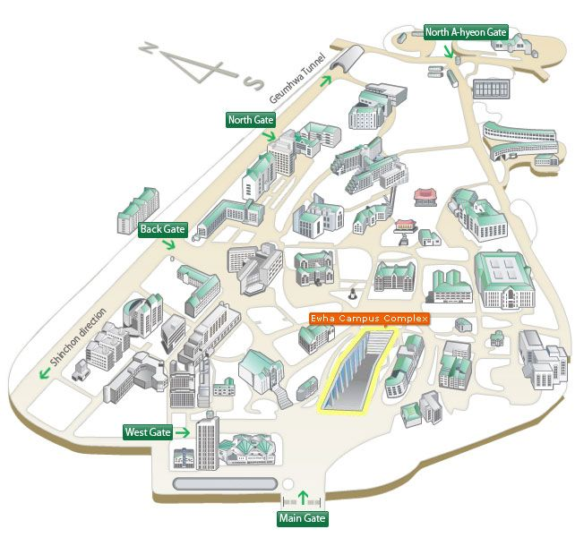Kaist Campus Map Google Search Isometric Pinterest