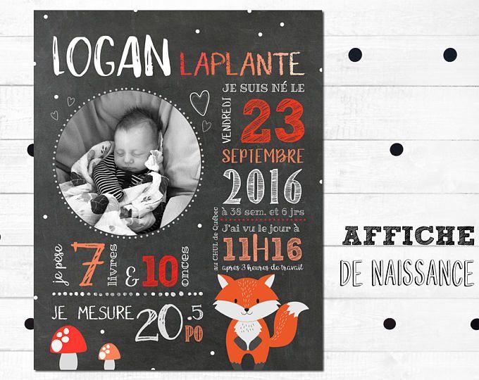 Poster of birth, digital file, is from birth, Blackboard, slate table, custom poster