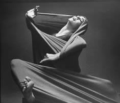 Lamentation by Martha Graham  this major work by Graham expresses in form and movement the pain and anguish brought about by loss.