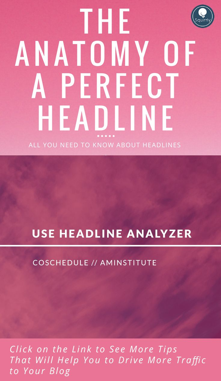 Are your headlines performing as well as you'd like? Do you want to write more effective headlines? Using a few simple techniques, you can improve your writing.