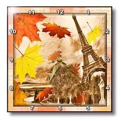 Amazon.com: Grunge Paris - 10x10 Wall Clock: Casa e Cozinha