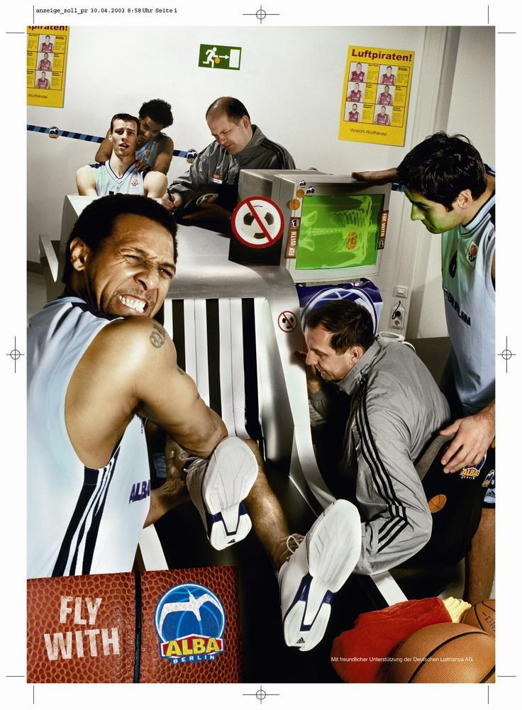 Fly with ALBA (Basketball ALBA BERLIN)
