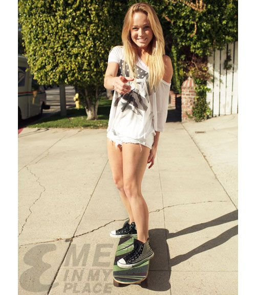 Caity Lotz Esquire | Caity Lotz Me in My Place photoshoot ...