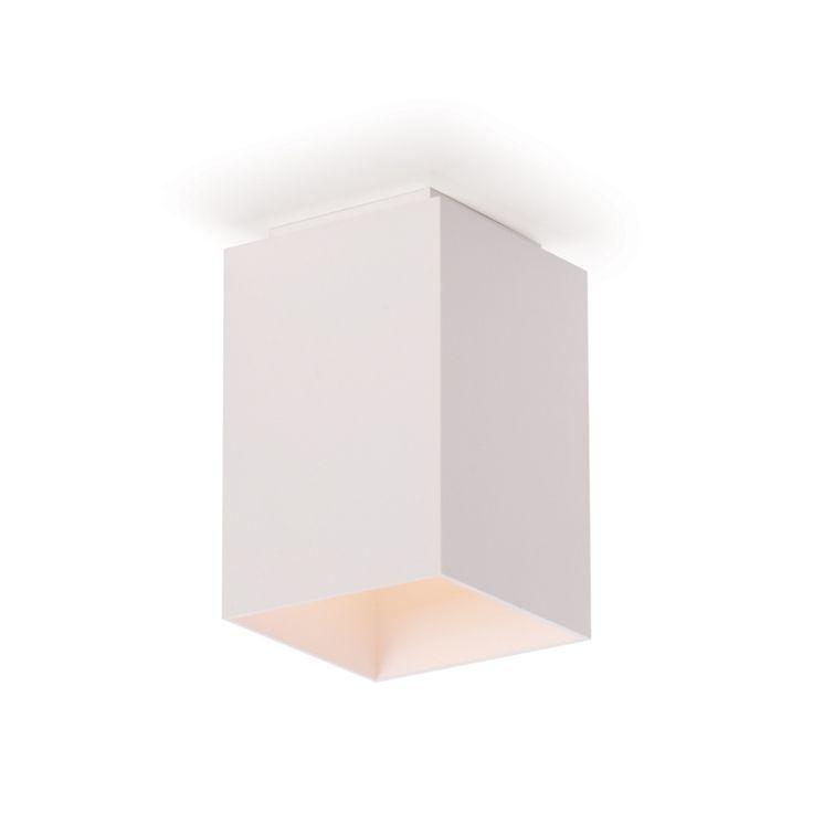 Plafon Sobrepor Lumidec PF79 - 1 Lâmpada ( 10cm x 10cm ) Branco