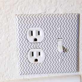 Interior decorating for a RENTED space PLUS a Washi Adhesive Sheet How-To in your kitchen!