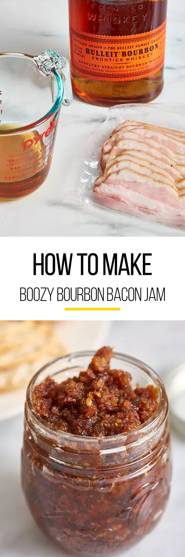 What's a holiday party without appetizers. Holidays means dips and spreads this Thanksgiving and Christmas. This easy bacon jam recipe is the best option if you're skipping out on your traditional holiday meals. This recipe calls for thick-cut bacon, sweet onion, bourbon, maple syrup, balsamic or sherry vinegar and freshly ground black pepper.