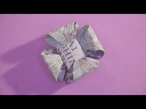 xếp tiền giấy việt nam tập 40 HOA | origami flower money 折り紙  | …