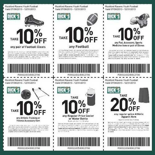 Best 25 football coupon ideas on pinterest football games on dicks sporting goods printable coupons for football gear until december 2013 get off football cleats off footballs off pad accessory sports medicine fandeluxe Gallery