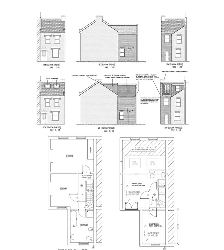1000 images about home loft conversions on pinterest Dormer floor plans