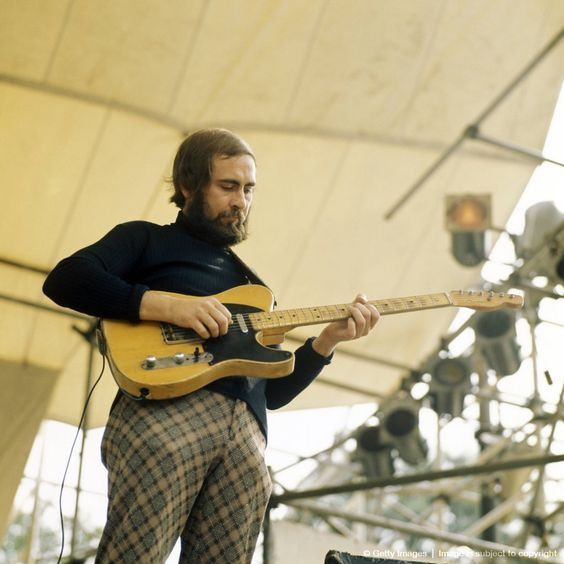 Roy Buchanan. Choice of guitar to play - AWESOME. Choice of pants to wear - TRAGIC.