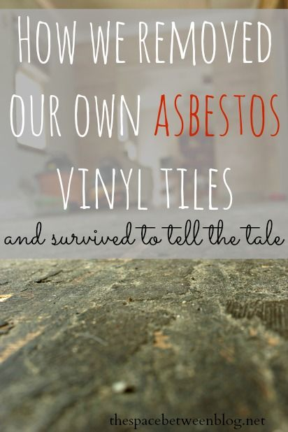 One Diyer S Take On Removing Their Own Asbestos Floor