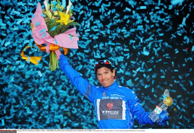 Gallery: 50 moments from the Giro d'Italia - Julian Arredondo gave Colombia another trophy to celebrate