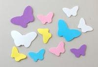 Gomma crepla farfalle