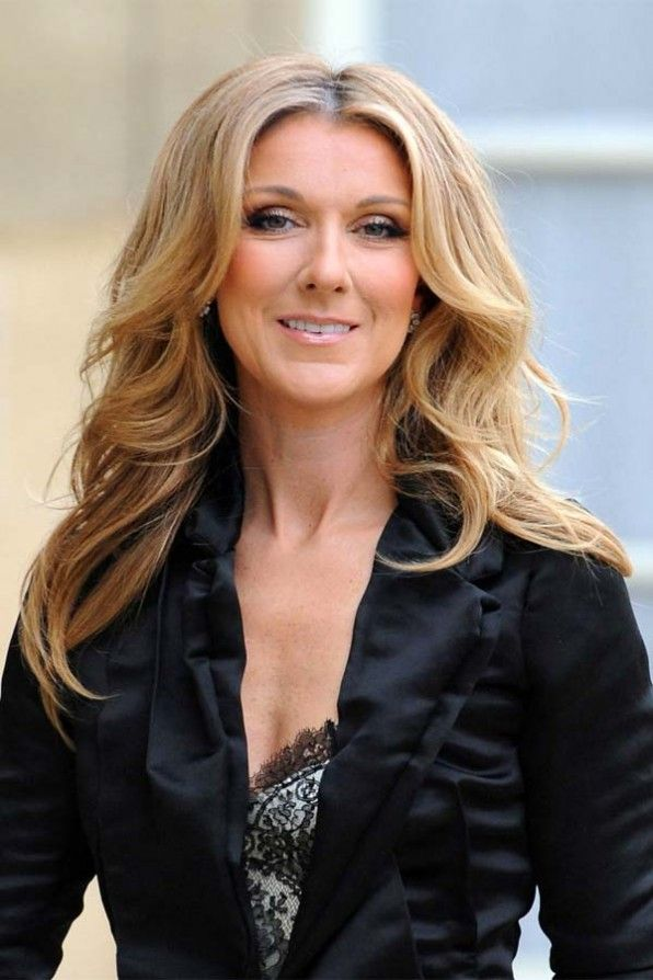 Celine Dion hair style