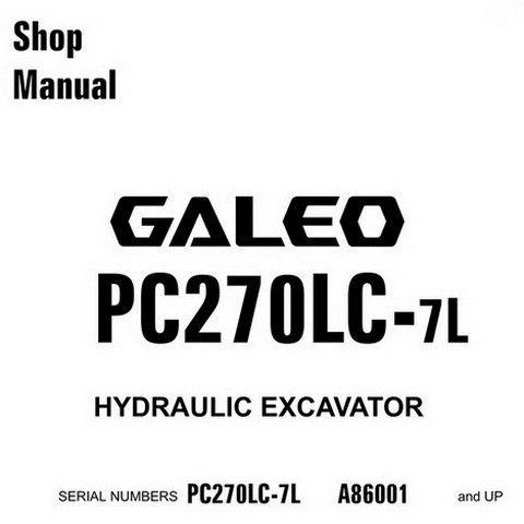 Komatsu PC270LC-7L Galeo Hydraulic Excavator Service